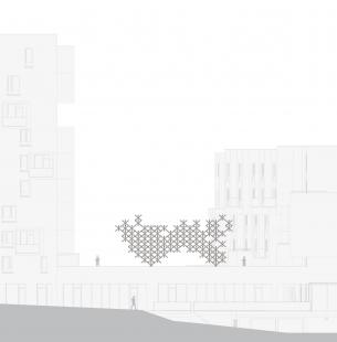 Experimentální objekt Čerešně - Pohled - foto: COLLARCH