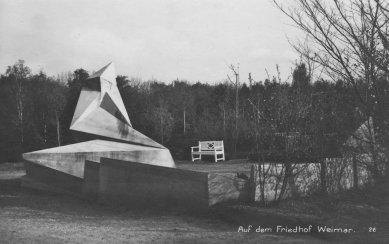 Pomník obětem březnového puče - Historický snímek