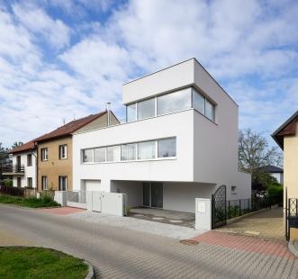 Rodinný dům ve Zbraslavi - foto: Tomáš Souček