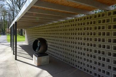 Rietveld pavilon v muzeu Kröller-Müller - foto: Petr Šmídek, 2016