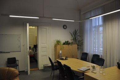 Interiéry kanceláří vedení města Pardubice - Původní stav