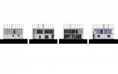 House in a Steel Corset - Pohledy - foto: Šépka architekti