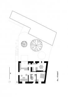 Dům v Ráji - Půdorys 1NP