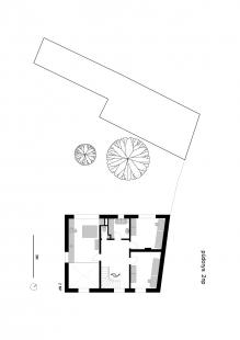 Dům v Ráji - Půdorys 2NP