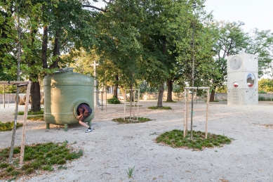 Nový park v Leopoldově - foto: Ján Kekeli
