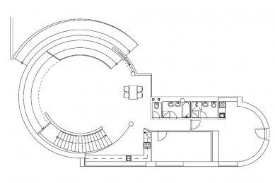 Rodinný dům na Červeném kopci - 1NP - foto: Fránek Architects