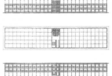 Přístavba fakulty architektury RWTH - První cena v realizační soutěži - foto: Plán autora