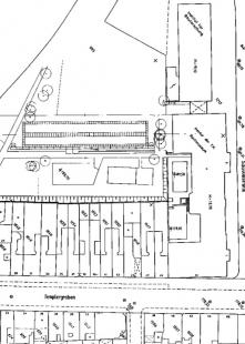 Přístavba fakulty architektury RWTH - Situace - foto: Plán autora