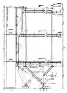Přístavba fakulty architektury RWTH - Detailní prvoplán - foto: Plán autora