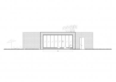 Rodinný dům v Hostivici - Severozápadní pohled - foto: She architect