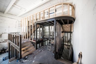 House of Wine - Fotografie z průběhu rekonstrukce - foto: Pavel Barták