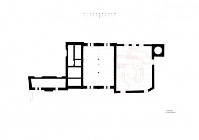 House of Wine - Půdorys přízemí - foto: CHYBIK+KRISTOF ASSOCIATED ARCHITECTS