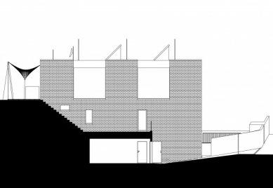 Vila v Troji - Západní pohled - foto: Šrámková architekti