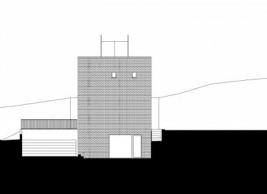Vila v Troji - Severní pohled - foto: Šrámková architekti