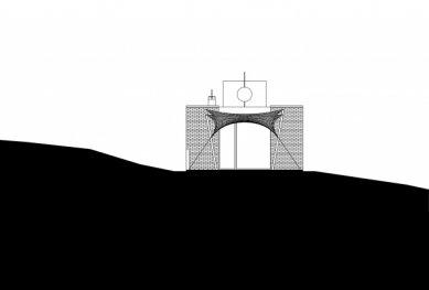 Vila v Troji - Jižní pohled - foto: Šrámková architekti
