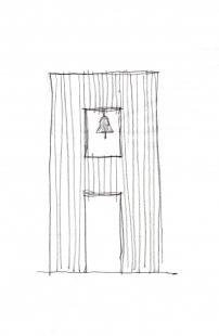Zvonička na Betlémském náměstí - Skica - foto: Ehl & Koumar architekti
