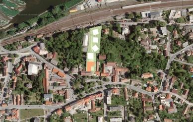 Housing Corso Pod Lipami - Situace - foto: Ehl & Koumar architekti