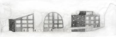 Housing Corso Pod Lipami - Skica - foto: Ehl & Koumar architekti