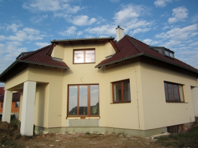 Reconstruction of the house, Hrusice - Fotografie původního stavu - foto: Archiv ateliéru SAD