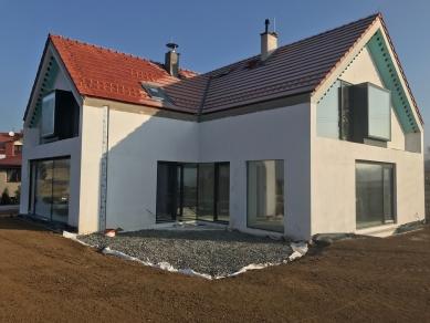 Reconstruction of the house, Hrusice - Fotografie z průběhu výstavby - foto: Archiv ateliéru SAD