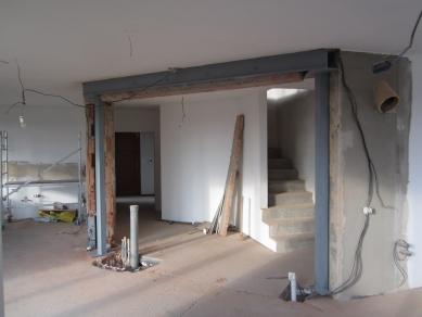 Reconstruction of the house, Hrusice - Fotografie z průběhu realizace - foto: Archiv ateliéru SAD
