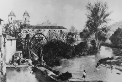 Muzeum papírenského mlýnu - Historický snímek