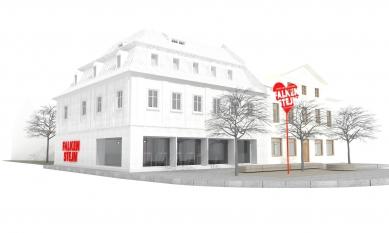 Expanze Pivovaru Falkenštejn - Vizualizace - foto: Atelier Hoffman