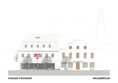 Expanze Pivovaru Falkenštejn - Východní pohled - foto: Atelier Hoffman