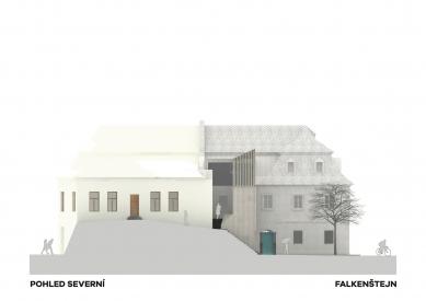 Expanze Pivovaru Falkenštejn - Severní pohled - foto: Atelier Hoffman