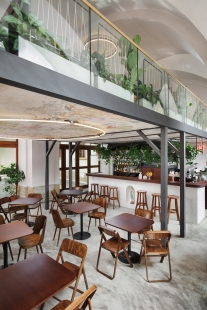 Cafe Konvikt - foto: Kubicek Studio