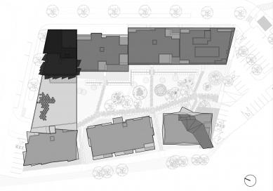 Bytový projekt Čerešne - Situace - foto: Šebo Lichý architekti