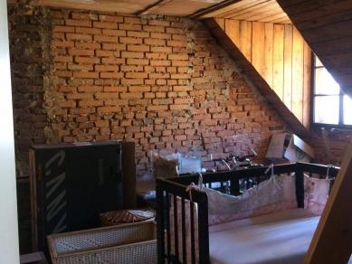 Přestavba bytu v Šumperku - Fotografie původního stavu - foto: UYO architekti