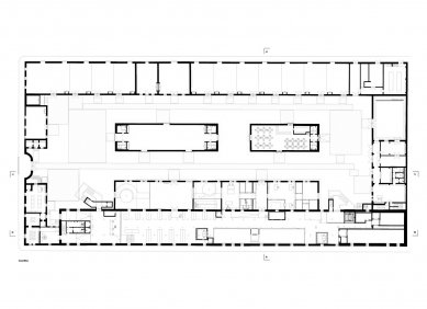 Casa da Arquitectura - Půdorys přízemí - foto: Guilherme Machado Vaz