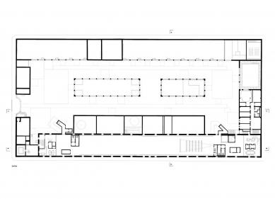 Casa da Arquitectura - Půdorys patra - foto: Guilherme Machado Vaz