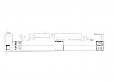 Casa da Arquitectura - Půdorys 2.np - foto: Guilherme Machado Vaz
