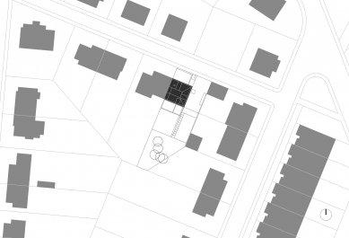 Rodinný dům Bílá Hora - Situace - foto: lennox architekti