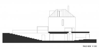 Rodinný dům Bílá Hora - Boční pohled - foto: lennox architekti