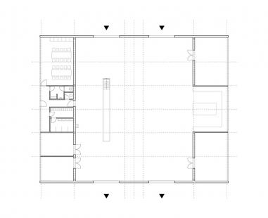 White Shed - Půdorys - foto: atelier 111 architekti