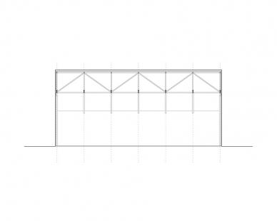 White Shed - Řez - foto: atelier 111 architekti