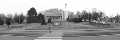 Park okolo kulturního domu v Hlučíně - foto: archiv Atelier 38