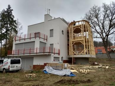 Rekonstrukce funkcionalistické vily v Pyšelích