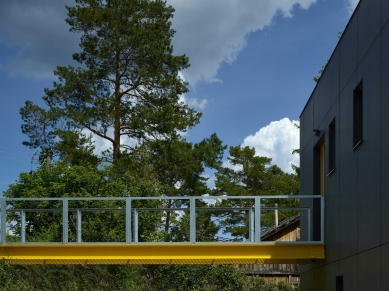 Rodinný dům u Slapské přehrady - foto: Filip Šlapal