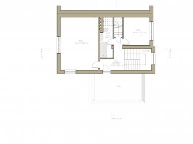 Pražská kancelář - Půdorys patra