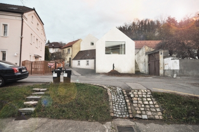 Rodinný dům v Jinonicích - Zákres - návrh