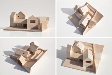 Rodinný dům v Jinonicích - Model