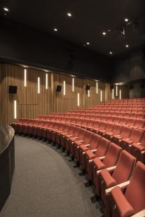 Rekonstrukce kina Hustopeče - foto: Ing. arch. Bořivoj Čapák