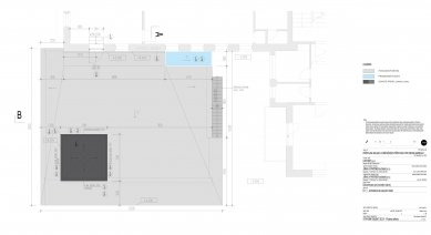 Galerie Pelechov - přístavba brusírny - Výkres střechy - foto: Jiran a partner architekti