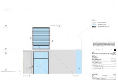 Galerie Pelechov - přístavba brusírny - Východní pohled - foto: Jiran a partner architekti