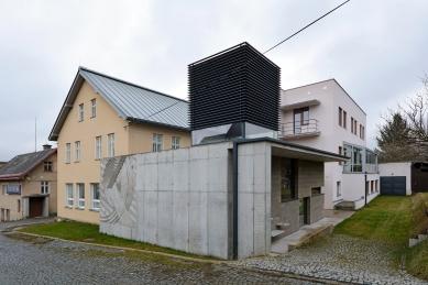Galerie Pelechov - přístavba brusírny - foto: Petr Šmídek, 2020
