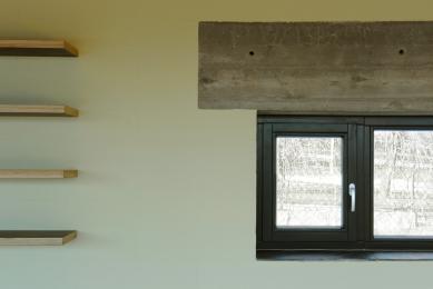Interiér rodinného domu v Mníšku pod Brdy - foto: Marek Sodomka